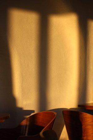 light on a winter's evening