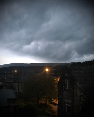 Clouds over Stoodly Pike